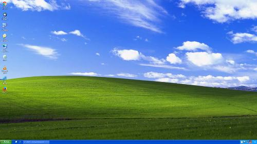 Закосил под Windows XP (визуальная схема Luna)