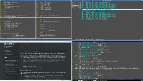 Десктоп с Openbox и FreeBSD