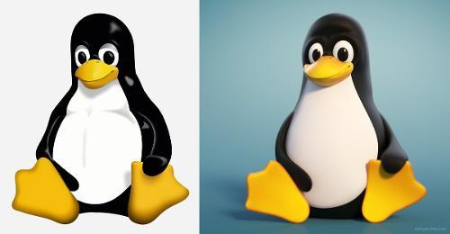 Tux: теперь и в 3D