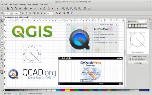 Принципиально новый логотип для «QGIS 3.0»