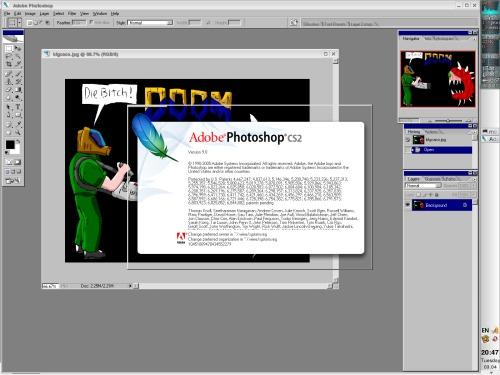 Photoshop CS2 под WINE
