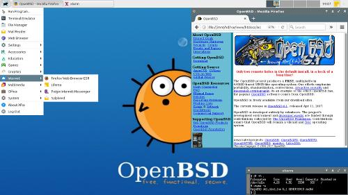 Походно-боевой OpenBSD