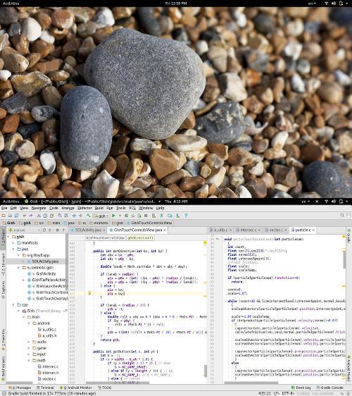 Fedora 25, GNOME 3, Wayland, портирование игры Gish на Android OS