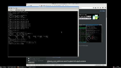 Debian Stretch, который стоит в ZRAM