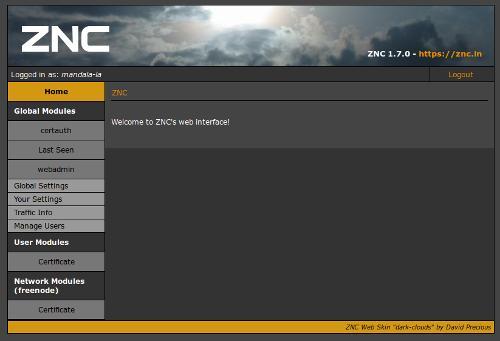 ZNC 1.7.0