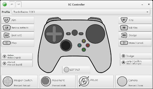 Релиз SC Controller 0.4.3