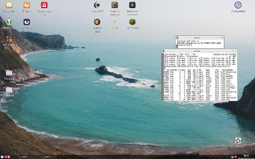 OpenBSD 6.3 + Openbox на Kaby Lake