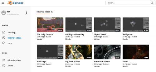 Blender тестирует пиринговую замену YouTube