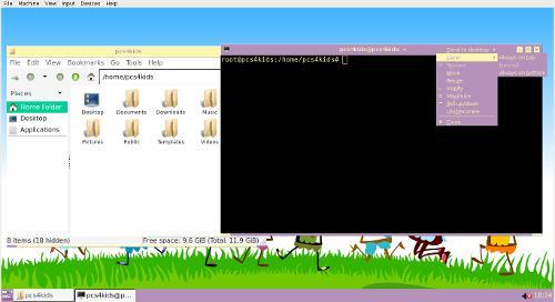 LXDE Openbox 4KIDS