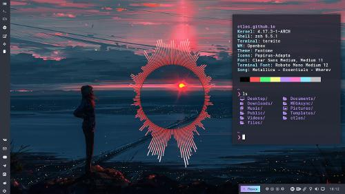 Arch Linux Openbox, Glava