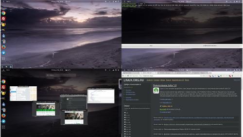 Минималистичный GNOME Shell для работы