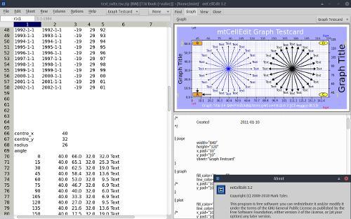 Релиз mtCellEdit 3.2 — свободный минималистичный редактор электронных таблиц (+ набор утилит)