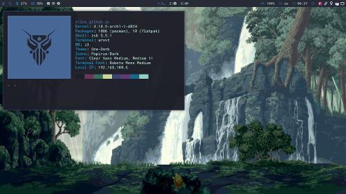 �R�{���y�~������: i3 gaps Arch Linux