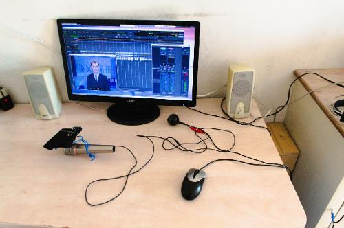Моя студийная система звукозаписи и мультипликации
