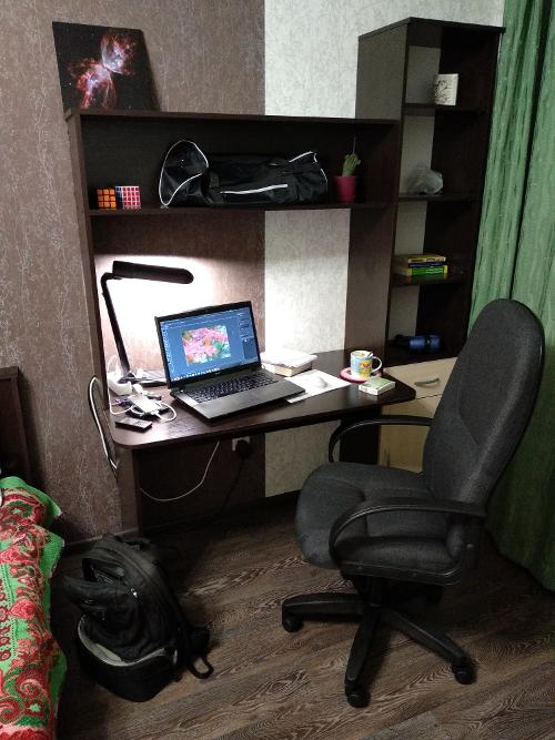 Новое место в новой квартире