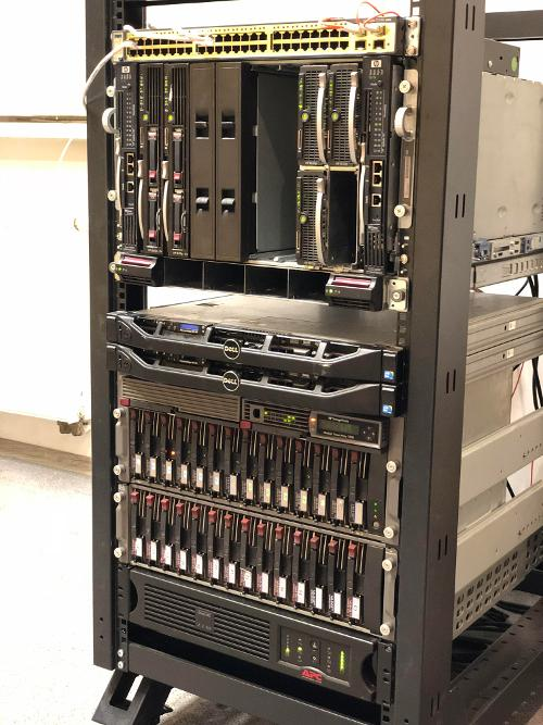 HP BladeSystem p-Class (часть 4)