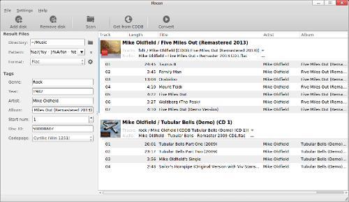 Flacon 5.0.0 — конвертор аудиофайлов музыкальных альбомов