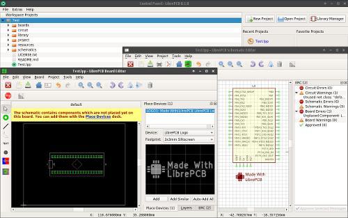 LibrePCB 0.1.0 — свободная САПР для проектирования электронных схем и печатных плат