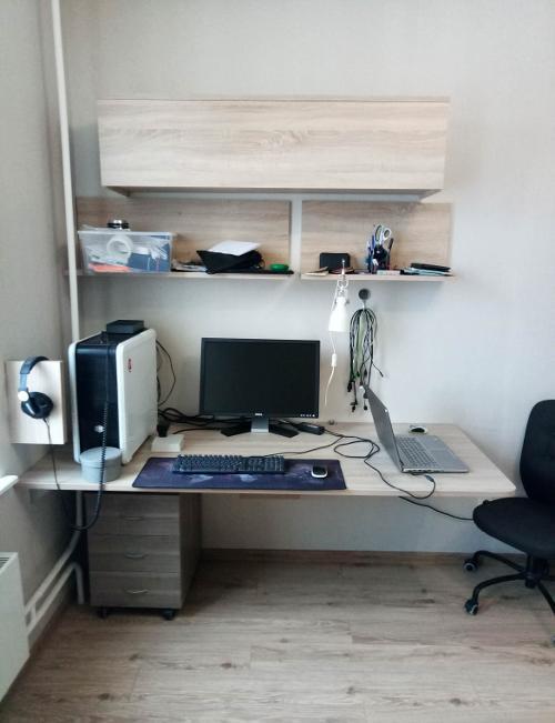 Домашний стол без ножек