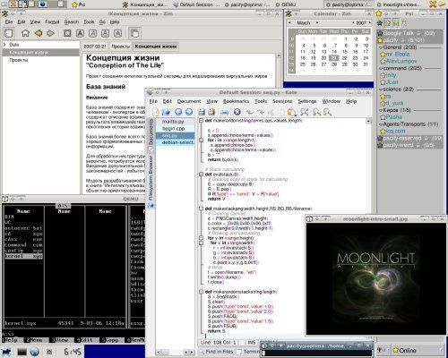 Debian Etch/XFCE