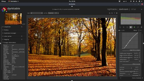 darktable 2.6.0