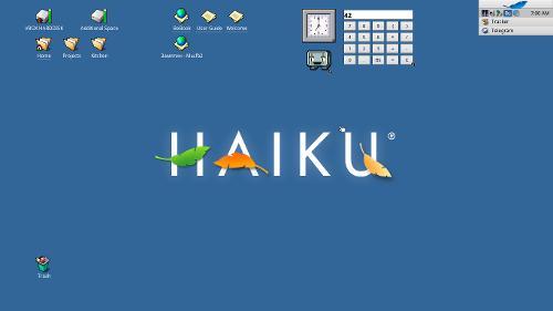 Есть ли жизнь на Haiku?