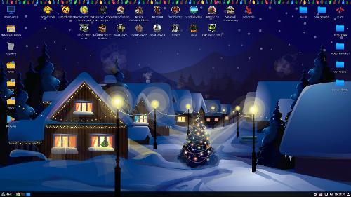 Новогодний Linux Mint 19.1 Tessa (Cinnamon)