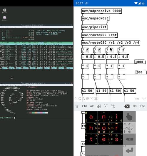 Debian stretch в chroot'е на android-смартфоне