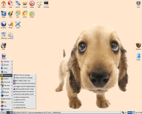 puppy linux 2.14 aka OS