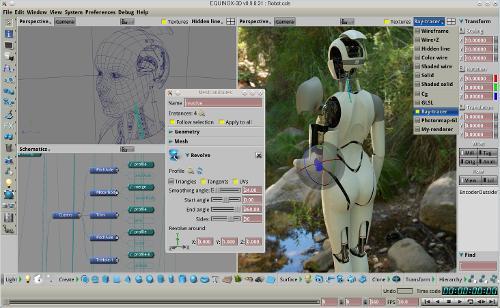 Выпуск пакета EQUINOX-3D и браузерного 3D движка Fusion engine