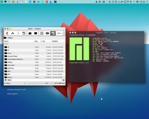 Компактная Plasma а-ля Mac