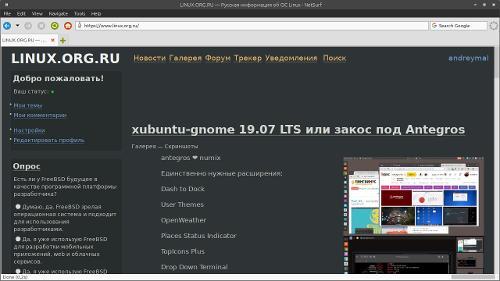 NetSurf 3.9