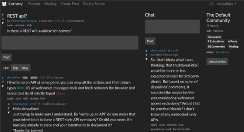 Lemmy — федеративный социальный новостной агрегатор