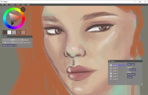 Вышел Milton 1.9.0 – программа для компьютерной живописи и рисования