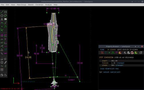 Создание анимации в SolveSpace 3.0