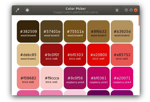 Color Picker 1.0 — свободный десктопный редактор палитр