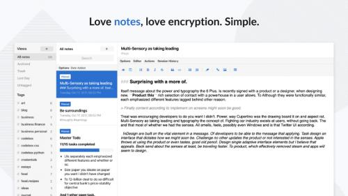 Приложение Standard Notes теперь доступно в виде snap