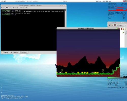 FluxBox+Blobwars