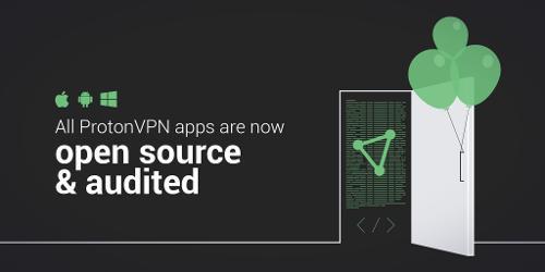ProtonVPN открыл код всех своих приложений