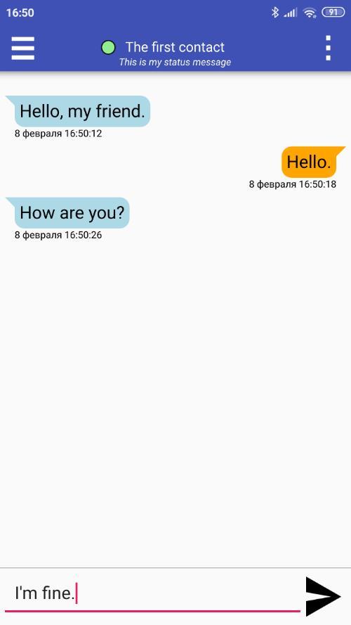 Первый альфа выпуск Protox, Tox клиента для децентрализованного обмена сообщениями для мобильных платформ.