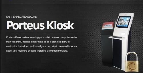 Porteus Kiosk 5.0.0 - дистрибутив для реализации демонстрационных стендов и терминалов самообслуживания