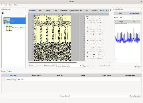 Hobbits 0.21— визуализатор бинарных файлов для реверс-инжиниринга