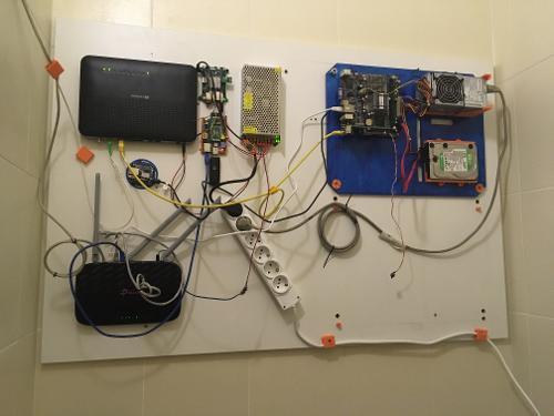 AlfaRelease - серверное помещение, совмещенное с санузлом