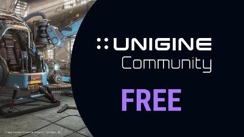 Вышла бесплатная версия 3D-движка UNIGINE: Community edition