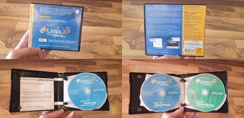 Linux XP, оригинальные CD с активационным номером.