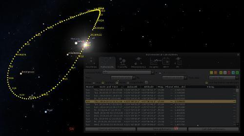 Stellarium 0.20.0 и 0.20.1