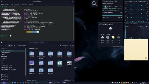 Gentoo Plasma (linux на desktop— есть)