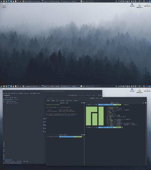 Manjaro KDE для работы