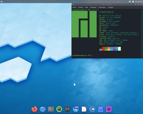 Manjaro KDE для учебы/программирования