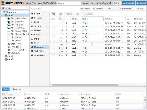 Proxmox 6.2 «Virtual Environment»